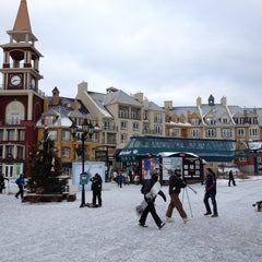 Photo taken at Station Mont Tremblant Resort by Jacques S. on 2/18/2012