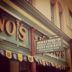 Photo taken at Bruno's Mexican-Italian Restaurant by Mr. Gabe S. on 6/20/2012