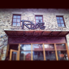Photo taken at Roots Restaurant and Cellar by ScoutsHonor U. on 7/17/2012