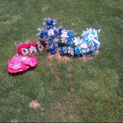 Photo taken at Chester Rural Cemetary by Marie D. on 5/18/2012
