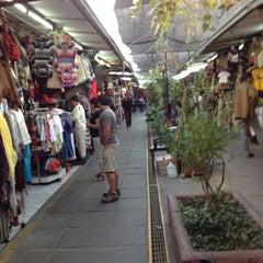 Photo taken at Feria Artesanal Santa Lucía by Maximiliano S. on 4/19/2012