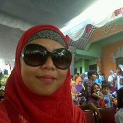 Photo taken at GOR Kodam Kepaon by Anni A. on 4/22/2012