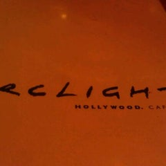 Photo taken at ArcLight Hollywood Cafe & Bar by Shok on 4/6/2012