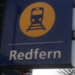 Photo taken at Redfern Station (Concourse) by Johnny C. on 3/12/2012