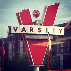 Photo taken at The Varsity by Michael Z. on 8/4/2012