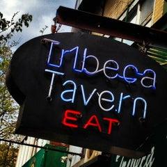 Photo taken at Tribeca Tavern by Tony on 4/11/2012