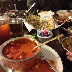 Photo taken at Taste Of India by Amy C. on 2/27/2012