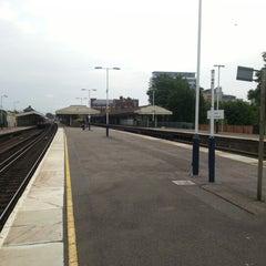 Photo taken at Basingstoke Railway Station (BSK) by Shaun S. on 7/6/2012