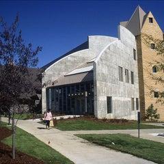 Photo taken at Weber Fine Arts Building by University of Nebraska at Omaha on 8/3/2011