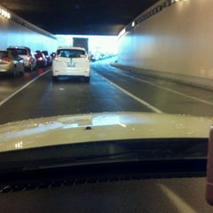 Photo taken at Hicks-Ellis Tunnel by Katie H. on 3/22/2012