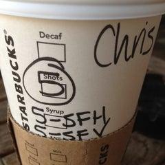 Photo taken at Starbucks by Chris W. on 8/9/2012