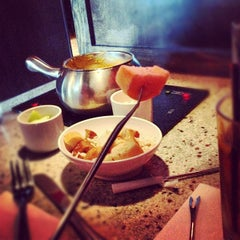 Photo taken at The Melting Pot by Stacie V. on 8/10/2012