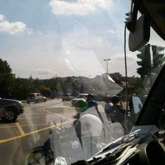 Photo taken at Traffic Light Gate UiTM Seksyen 7 by Awal S. on 9/29/2011