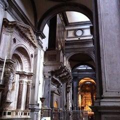 Photo taken at Chiesa di San Salvador by Natalino B. on 8/15/2011