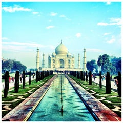 Photo taken at Taj Mahal | ताज महल | تاج محل by Masaki O. on 1/25/2012