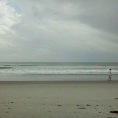 Photo taken at Cocoa Beach by Traveling Mouse on 11/5/2011