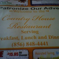 Photo taken at Country House Restaurant by Juliet R. on 9/25/2011