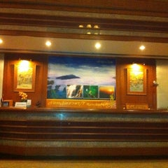 Photo taken at Golden City Hotel Ratchaburi by Kruanghom N. on 2/14/2011