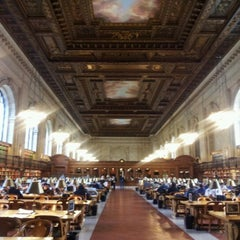 Photo taken at Rose Main Reading Room by Greg H. on 11/10/2011