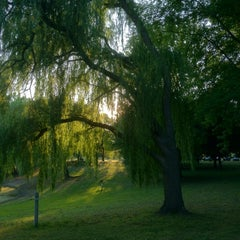 Photo taken at Otsiningo Park by Courtney on 7/3/2012