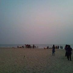 Photo taken at Kashid Beach by varun o. on 4/1/2012