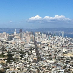 Photo taken at Twin Peaks Summit by Chris P. on 2/27/2012