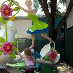 Photo taken at Peter Pan Mini Golf by Evan M. on 5/22/2012