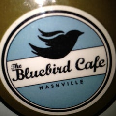 Photo taken at Bluebird Cafe by justin l. on 6/2/2012
