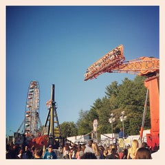 Photo taken at Champlain Valley Exposition by Noah D. on 9/1/2012