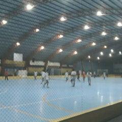 Photo taken at Gool Futsal Mangga Dua by Suryo P. on 12/13/2011