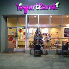 Photo taken at Yogurtland by Dan O. on 11/29/2011