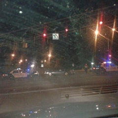 Photo taken at 90th & W Dodge Rd by Marc H. on 4/11/2012
