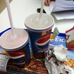 Photo taken at Burger King by Andrew K. on 5/3/2012