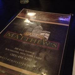 Photo taken at Matthews East End Grill by Crystal C. on 6/22/2012