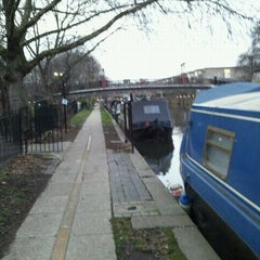 Photo taken at Grand Union Canal -  Maida Hill by Harold D. on 12/20/2011