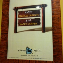 Photo taken at Caribou Coffee by Kelly H. on 10/1/2011