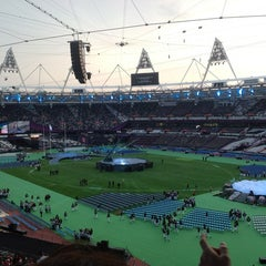 Photo taken at Olympic Stadium by Justin L. on 9/9/2012