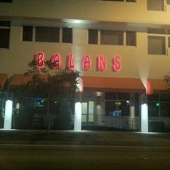 Photo taken at Balans Restaurant & Bar, Biscayne by will_1k on 9/1/2012