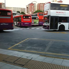 Photo taken at Hougang Central Bus Interchange by Greachel C. on 8/17/2011