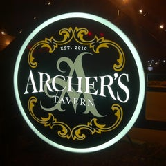 Photo taken at Archer's Tavern by Grant S. on 2/18/2011