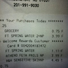 Photo taken at Super Foodtown by Eddy R. on 6/12/2012