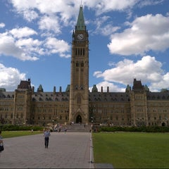 Photo taken at Parliament Hill by Andrew M. on 8/17/2012