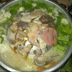 Photo taken at ร้านปิ้งแซบ by Bier b. on 2/1/2012