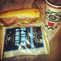 Photo taken at Jimmy John's by Victor A. on 5/16/2012