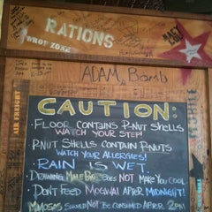 Photo taken at AJ Bombers by Nicole G. on 9/9/2011