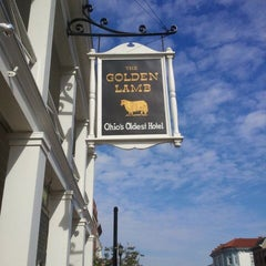 Photo taken at The Golden Lamb by Care H. on 10/11/2011
