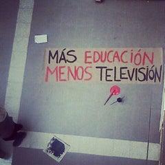 Photo taken at Universidad de Chile - Facultad de Ciencias Sociales by Tamara G. on 6/21/2012