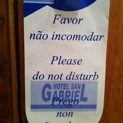 Photo taken at Hotel San Gabriel by 💗Vivi C. on 1/6/2012