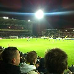 Photo taken at Herman Vanderpoortenstadion | Het Lisp by Glenn V. on 11/26/2011
