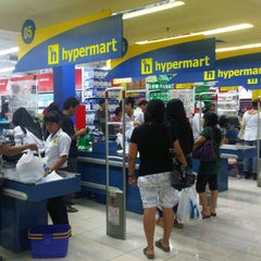 Photo taken at hypermart by Veronica C. on 6/29/2012